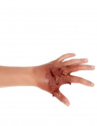 Maquilhagem pele horrível Halloween