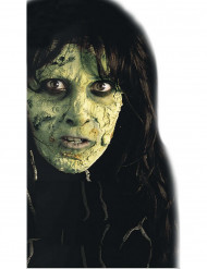 Maquilhagem pele verde Halloween