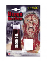 Tubo gel falso sangue Halloween