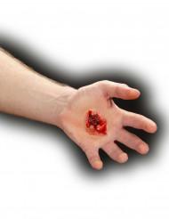 Falso ferimento de bala adulto Halloween