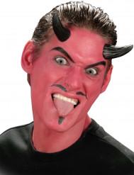 Falsos cornos de demônio adulto Halloween