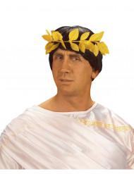 Coroa de loureiro dourado adulto