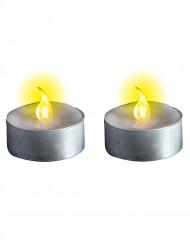 Velas luminosas com pilhas