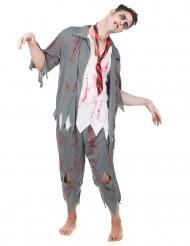 Disfarce de zombie homem