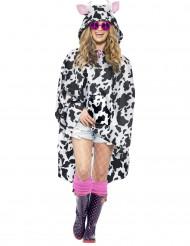 Capa poncho vaca adulto