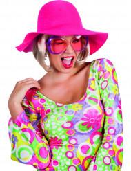 Chapéu estival rosa mulher