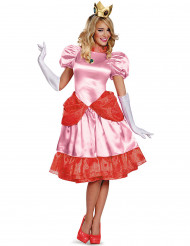 Disfarce princesa Peach™ Deluxe - mulher
