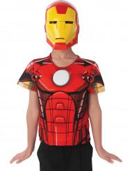 Plastrão e capa Iron Man™ -Avendres criança