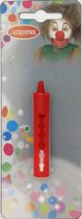 Lápis de maquilhagem vermelho