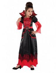 Disfarce de vampiro menina halloween