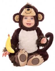 Disfarce de macaco para bébé