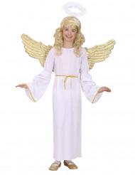 Disfarce de Anjo dourado criança