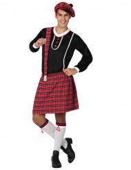 Disfarce típico escocês homem