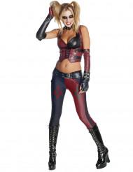 Disfarce de Harley Quinn Batman Arkham City™ mulher