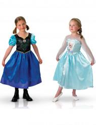 Disfarce duo de Anna e Elsa do Frozen™ para menina
