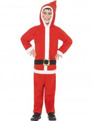 Disfarce de Pai Natal criança
