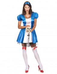 Disfarce princesa das maravailhas halloween