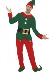 Disfarce duende homem Natal