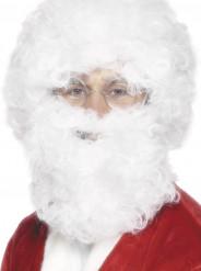 Barba e peruca branca Pai Natal