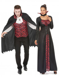 Disfarce de casal vampiros