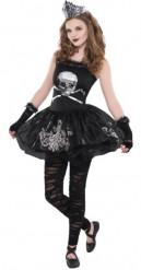 Disfarce bailarina das trevas adolescente Halloween