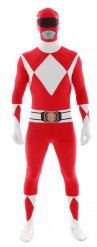 Disfarce Morphsuits Power rangers™ vermelho