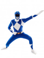 Disfarce Morphsuit™ Power Rangers azul adulto