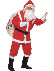 Disfarce de Pai Natal luxo homem