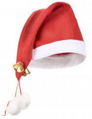 Chapéu chocalhos adulto Natal