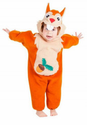 Disfarce de esquilo bébé