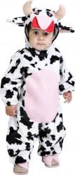 Disfarce de vaca bebé