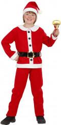 Disfarce Pai Natal menino