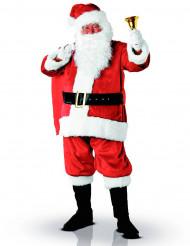 Disfarce Pai Natal luxo adulto