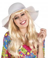 Chapéu Estival Branco para mulher