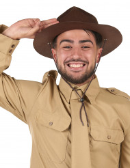 Chapéu de escoteiro adulto