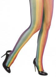 Collants arco-íris para mulher