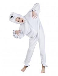 Disfarce Urso polar criança