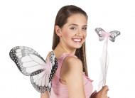 Kit borboleta cor-de-rosa