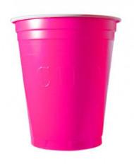20 Copos americanos Original cup cor-de-rosa