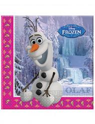 20 guardanapos Olaf Frozen™