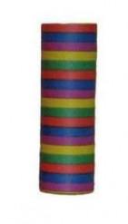 Rolo de 18 serpentinas 6m coloridas