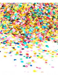 Saco de confetis de várias cores