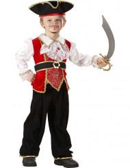Disfarce pequeno pirata de luxo - menino