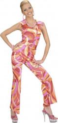 Disfarce Disco cor-de-rosa mulher