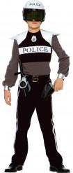 Kit disfarce polícia menino
