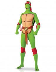 Disfarce segunda pele Rafael Tartaruga Ninja™ adulto