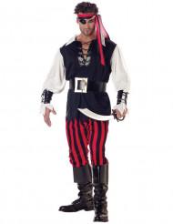 Disfarce de pirata assasino adulto
