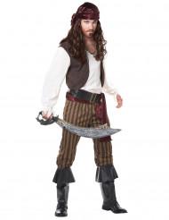 Disfarce de pirata adulto