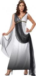 Disfarce imperatriz romana de luxo mulher