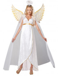 Disfarce anjo de guarda mulher
